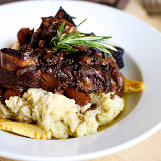 Braised Beef Short Ribs + Parsnip Puree, an adapted Ad Hoc