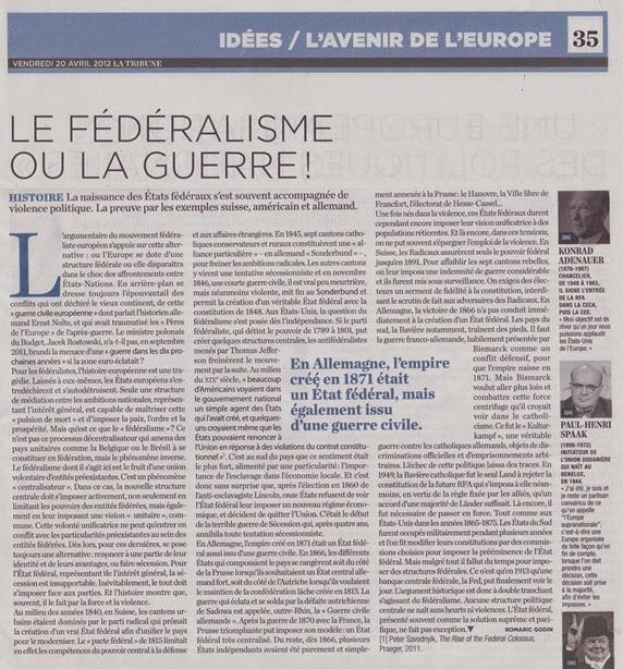Federalisme Euròpa