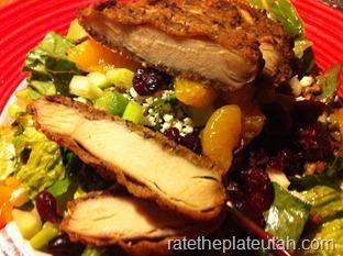 TGI Fridays Pecan-Crusted Chicken Salad