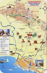 Agrigento-Map