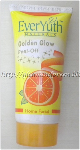 EverYuth Naturals Golden Glow Peel-Off Home Facial Review