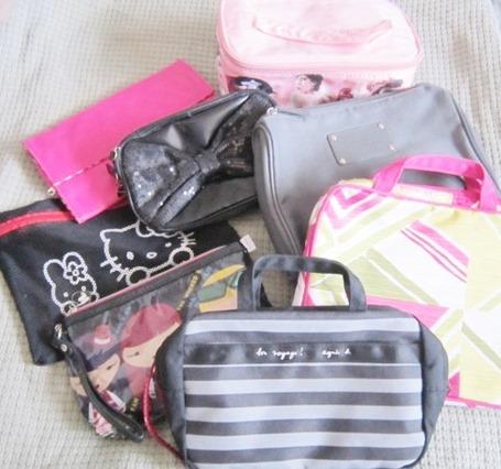 travel pouches, bitsandtreats