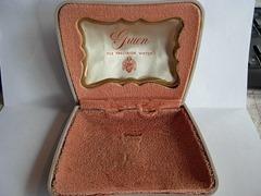Gruen watch case inside