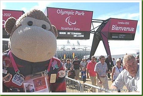 Olympic Park Paralympic entrance