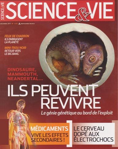 Portada Sciences&Vie Décembre 2011