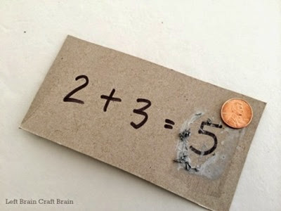 Scratch Off Math Cards - Left Brain Craft Brain