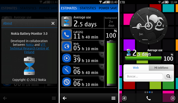 Nokia Batery monitor 3