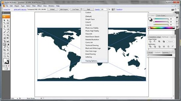 fermicg_2d map to 3d globe tutorial