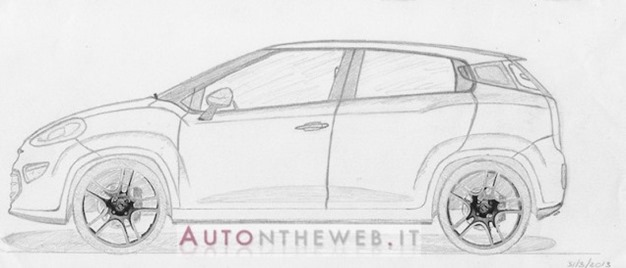 OGAN AUTO: Rendering of Next Generation Fiat Punto Design