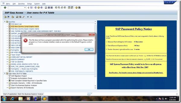 BeX Error: No File association for .3xbex & .7xbex files