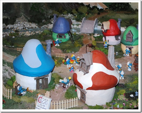Smurf Village at the Moof