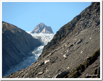 The top of the Fox Glacier.
