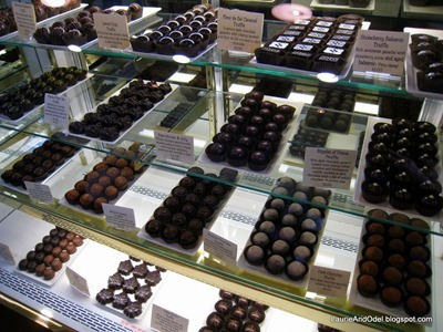 At the chocolate shop