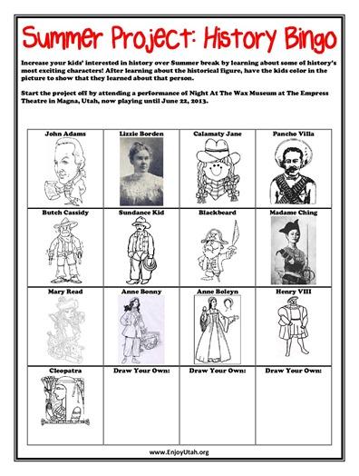 historical figures bingo-page-001