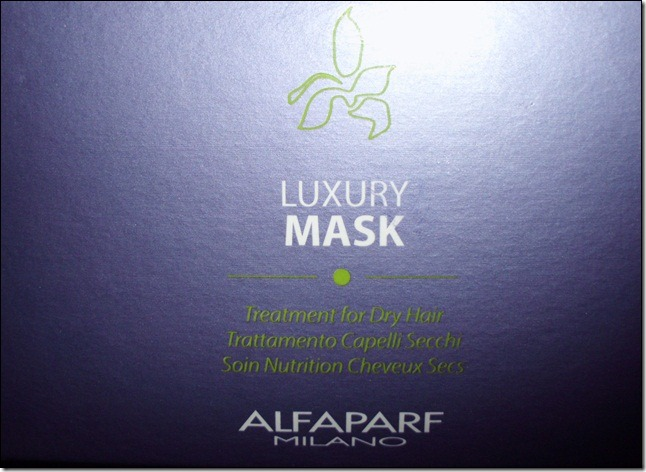 Tratamento Alfaparf Nutri Seduction- Luxury Mask