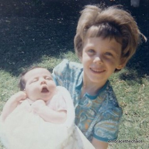 Janiece & Darlene Angle 1968