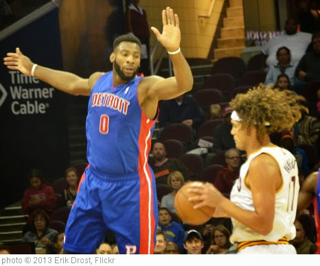 'Andre Drummond and Anderson Varejao' photo (c) 2013, Erik Drost - license: http://creativecommons.org/licenses/by/2.0/