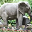 Philadelphia Zoo Elephant Sculpture