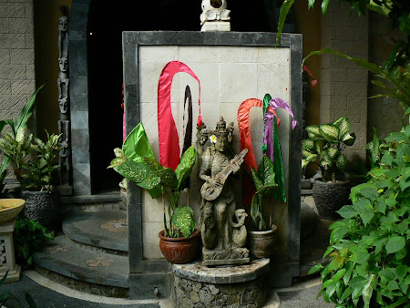Statue of Hindu Gods in Ubud