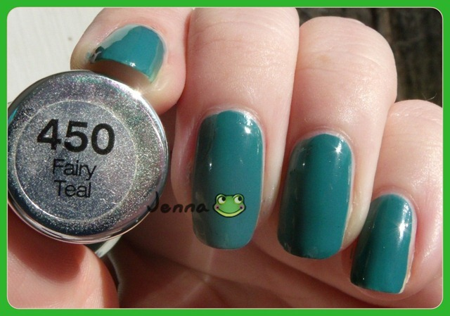 Sally Hansen Fairy Teal Label