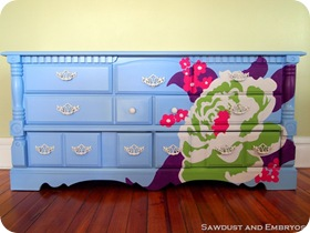 Flower Dresser (Joel Dewberry Inspiration)