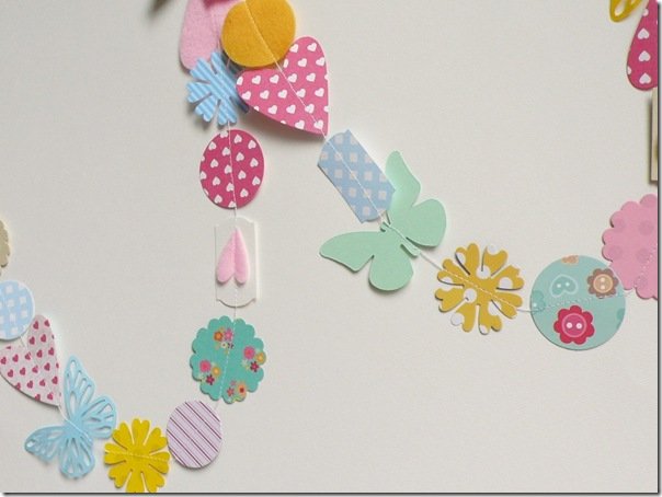 cafe creativo - Anna Drai - big shot sizzix - paper garland (2)