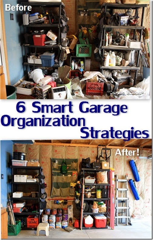 six steps to an organized garage