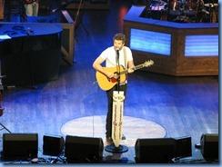 9118 Nashville, Tennessee - Grand Ole Opry radio show - Brett Eldredge