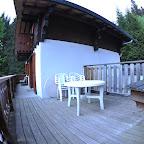 chalet Le P'tit Grenier - Terrasse et balcon