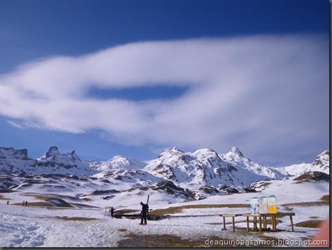 Pico de Canal Roya 2345m con esquis (Portalet, Pirineos) (Isra) 7299