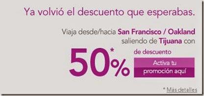 Descuento dle 50 descuento De Tijuana A San Francisco