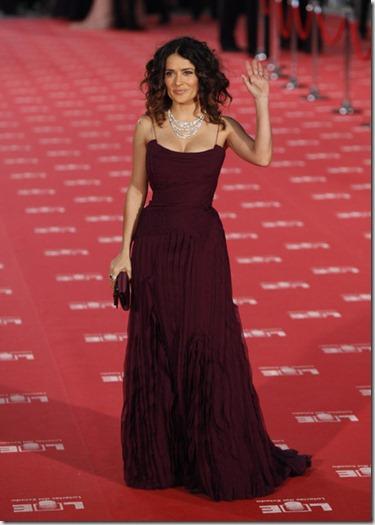Salma Hayek Goya Cinema Awards 2012 Red Carpet PWNkliwtOG8l