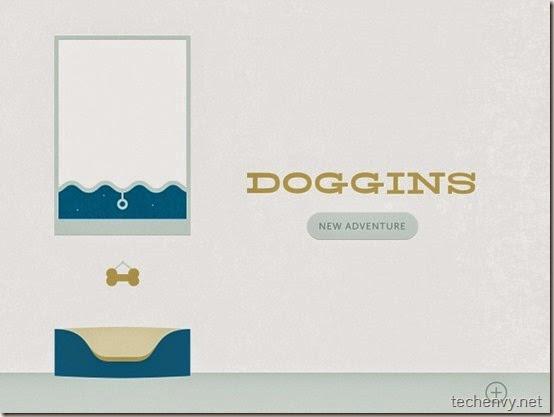 Doggins app for iOS