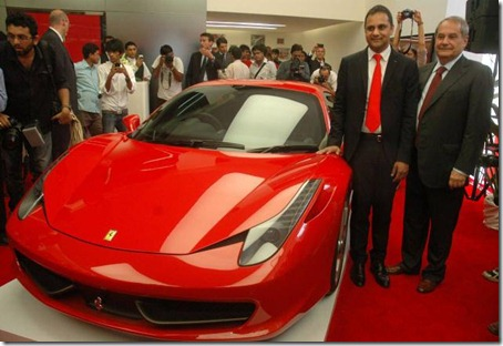 Ferrari launches in india 1