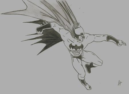 Fan Art de Batman, por Dolores Hernández