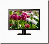 Shopclues : Buy AOC e2352Phz 23 inch LED 3D Monitor at Rs.12855 only