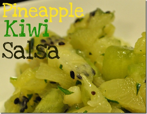 Pineapple Kiwi Salsa