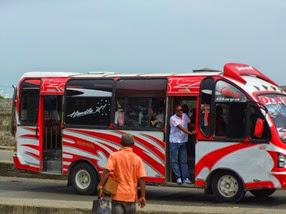 autobús en Cartagena de Indias