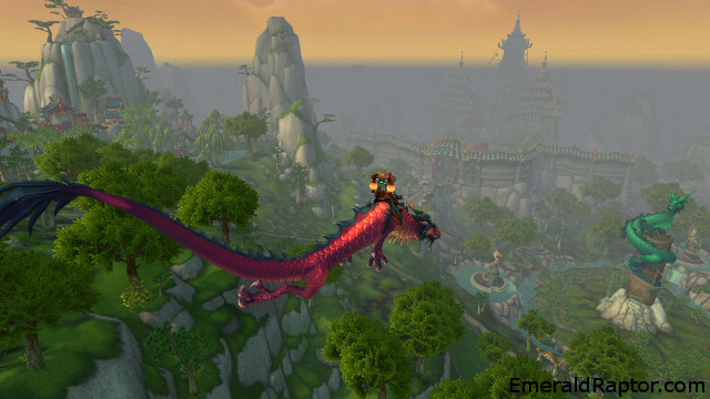 Mists of Pandaria dragon