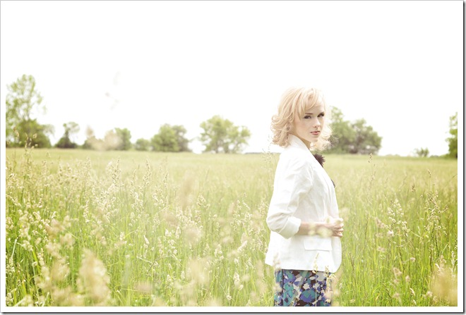 grassy field vintage