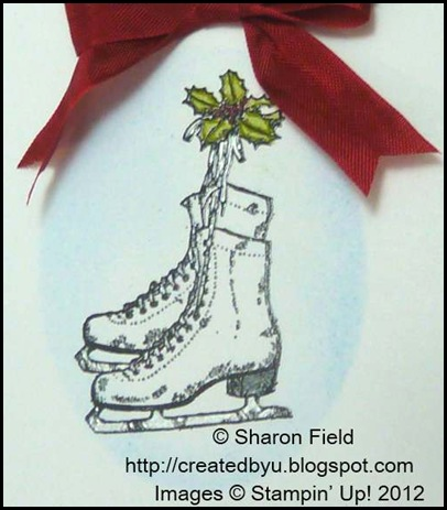 stampin dazzle marker and basic gray marker skates