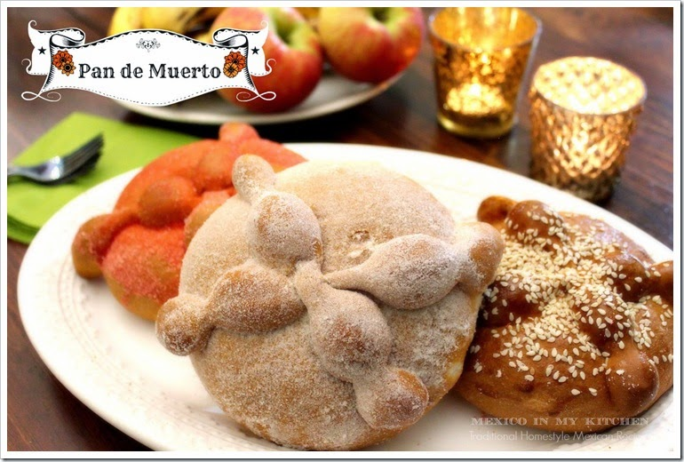 Pan de Muerto Day of the Dead BreadA