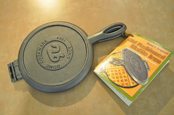 老祖母鬆餅鐵板(Waffle Iron)
