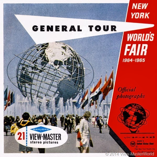 View-Master New York World's Fair 1964-1965 (A671), Packet Cover