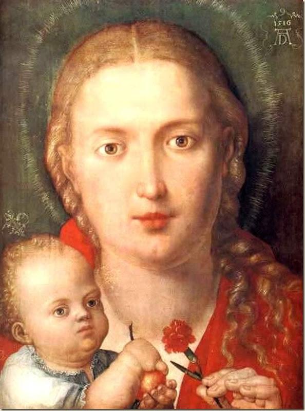 Dürer, Vierge à l'enfant