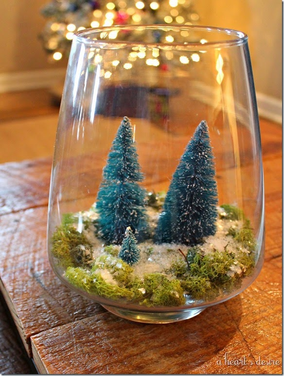 Christmas Forest Terrarium