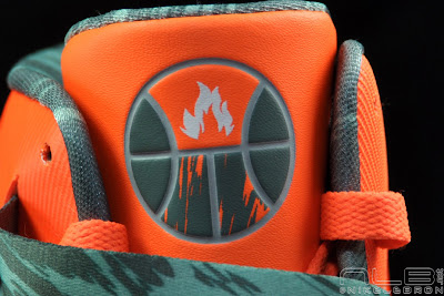 lebrons soldier6 orange camo 50 web black The Showcase: Nike Zoom Soldier VI Orange & Hasta Camo
