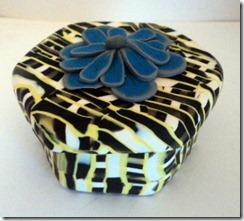 black and yellow box side view