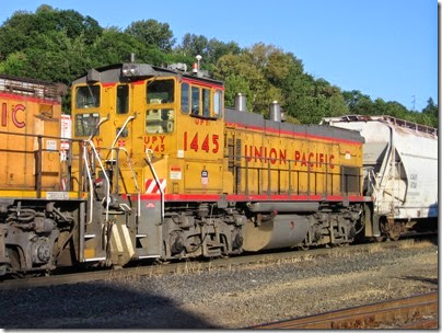 IMG_6478 Union Pacific MP15AC UPY #1445 at Albina Yard in Portland on May 22, 2007