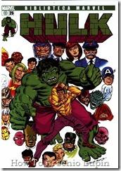 P00025 - Biblioteca Marvel - Hulk #25